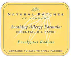Natural Patches of Vermont Soothing Allergy Formula