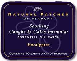 Natural Patches of Vermont Eucalyptus Soothing Coughs & Colds
