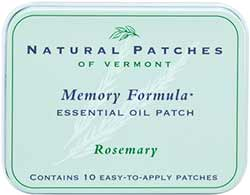 Natural Patches of Vermont Rosemary Memory Formula